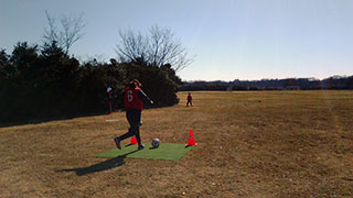 フットゴルフ体験1