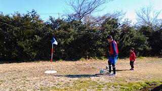 フットゴルフ体験2
